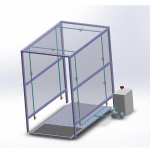 Disinfactant booth sanitisation